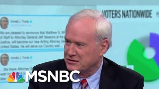 Matthews Says President Donald Trump Firing Sessions Could Be Obstruction | Velshi & Ruhle | MSNBC