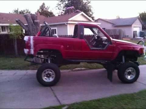 Toyota Little Rock >> bobing my 1986 4runner Bed - YouTube