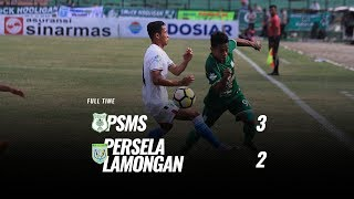 Download Video [Pekan 23] Cuplikan Pertandingan PSMS vs Persela Lamongan, 21 September 2018 MP3 3GP MP4