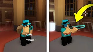 ROBLOX JAILBREAK HOW TO USE GUNS IN MUSEUM! *NEW GLITCH!*