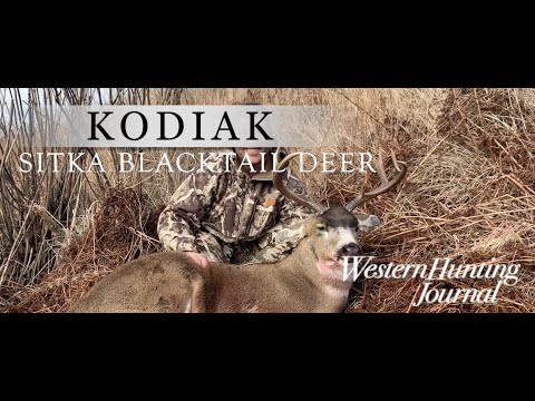 They're BIGGER Than You THINK!  Sitka BLACKTAIL Deer On KODIAK Island | Western Hunting Journal
