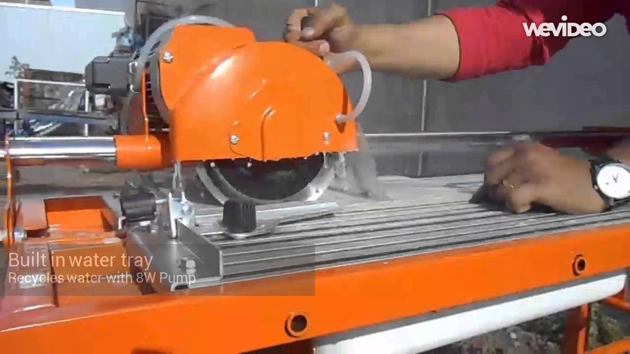 800w 7 electric tile stone saw 40cm cutter w water pump