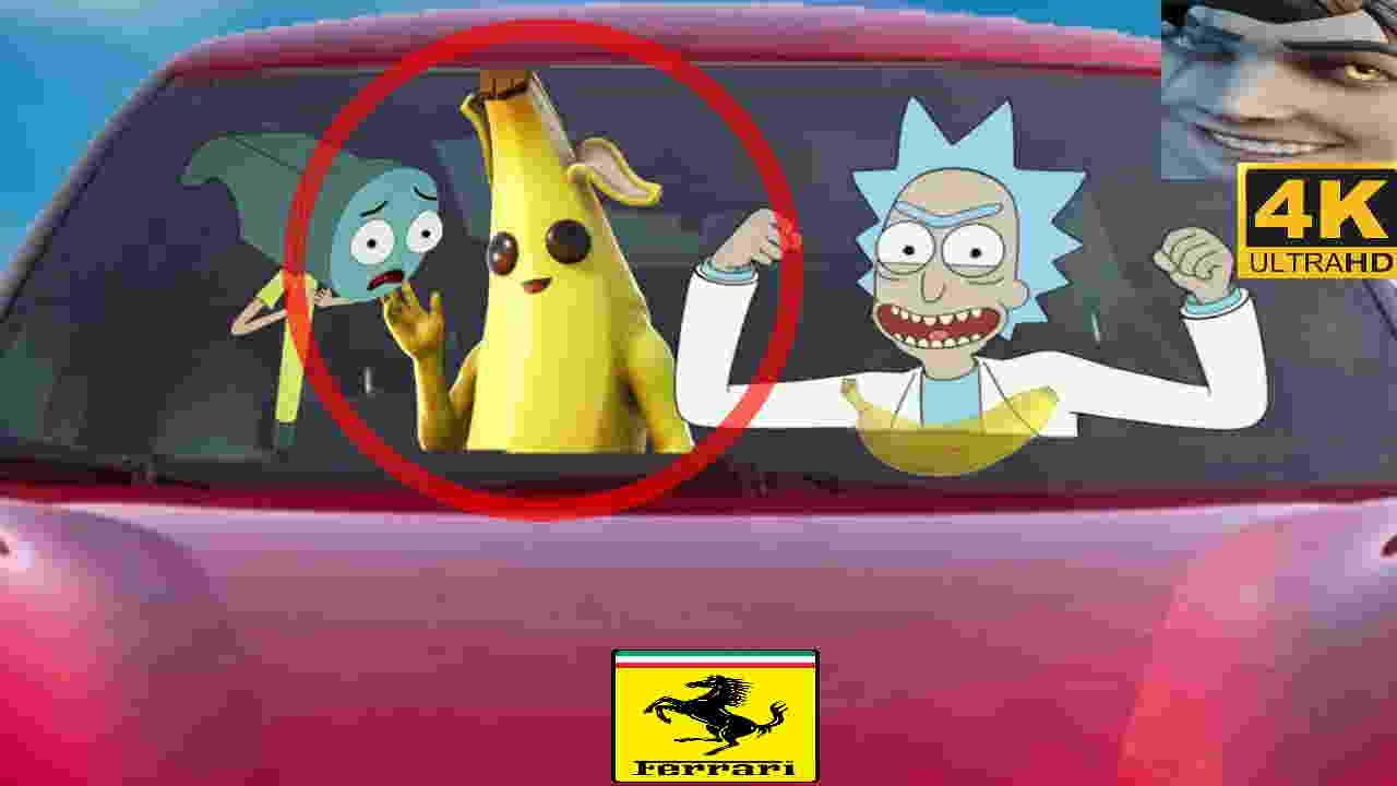 Rick and Morty meets Peely