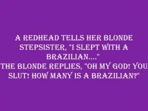 short redhead jokes