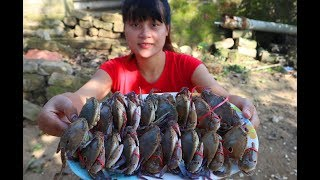 steamed crab recipes | Delicious Cooking Sea Crab With Young Green Pepper - Cooking skills