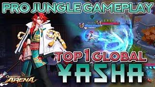 TOP 1 GLOBAL YASHA — PRO Build and Gameplay | Onmyoji Arena