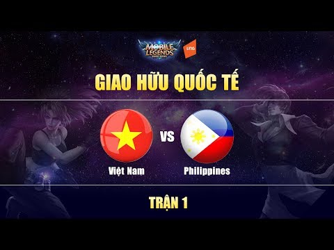 Việt Nam Vs Philippines Trận 1 - Giao Hữu Quốc Tế | Mobile Legends Bang Bang Việt Nam thumbnail
