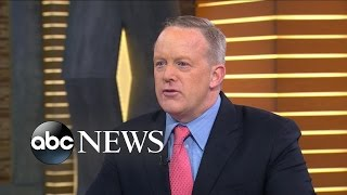 Sean Spicer Interview on Trump, Russia Hacking