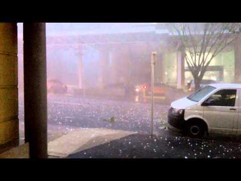 Severe Hail Storm Brisbane 27/11/14