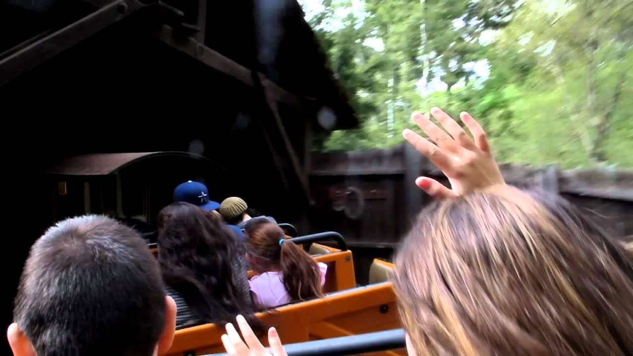 Big Thunder Mountain Railroad At Disneyland HD With Hidden Mickey