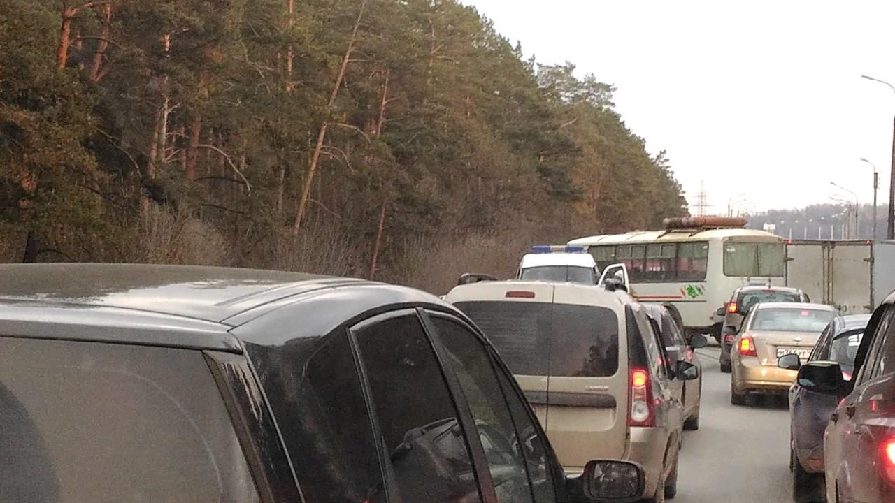 авария под калугой вольво и автобус