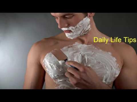 पुरुष कैसे पायें छाती और कमर के अनचाहे बालों से छुटकारा - Anchahe Baal Hatane Ke Tarike