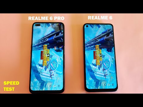 Realme 6 VS Realme 6 Pro Speed Test