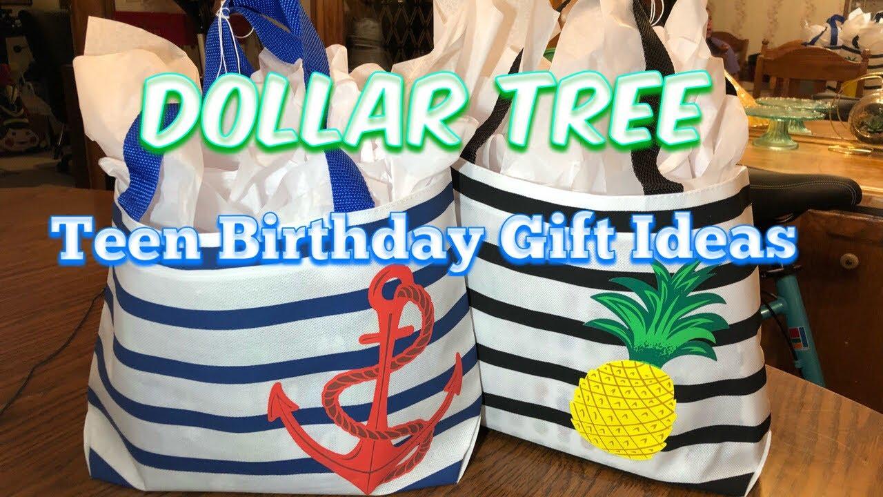 Dollar Tree Teen Birthday Gift Ideas