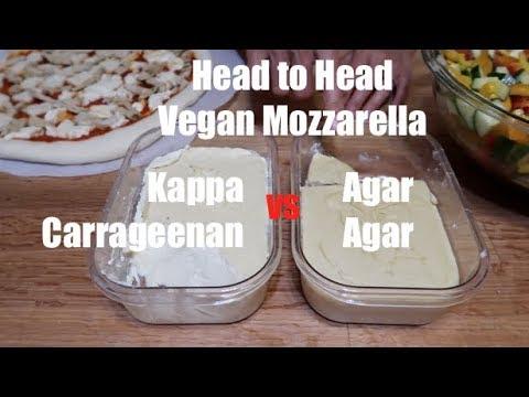 Vegan Mozzarella - Carrageenan vs Agar Agar - Head to Head!