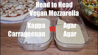 Vegan Mozzarella - Carrageenan vs Agar Agar - Head to Head!