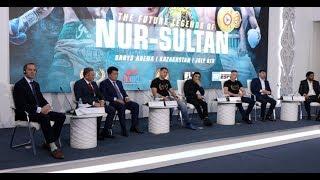 THE FUTURE LEGENDS OF NUR-SULTAN! - FULL PRESS CONFERENCE  (JULY 6 - BARYS ARENA KAZAKHSTAN / MTK)