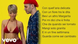 Elodie, Marracash - Margarita (Testo/Lyrics)