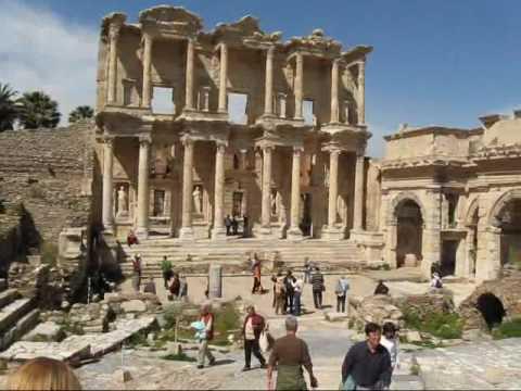 Ephesus 3 of 3: Library of Celsus, Stadium, and Causeway
