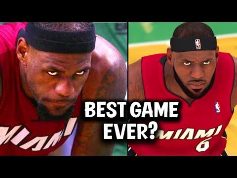 Recreating LeBron James GREATEST Game Ever on NBA 2K20! (2012 Playoffs Game 6 vs Celtics) |