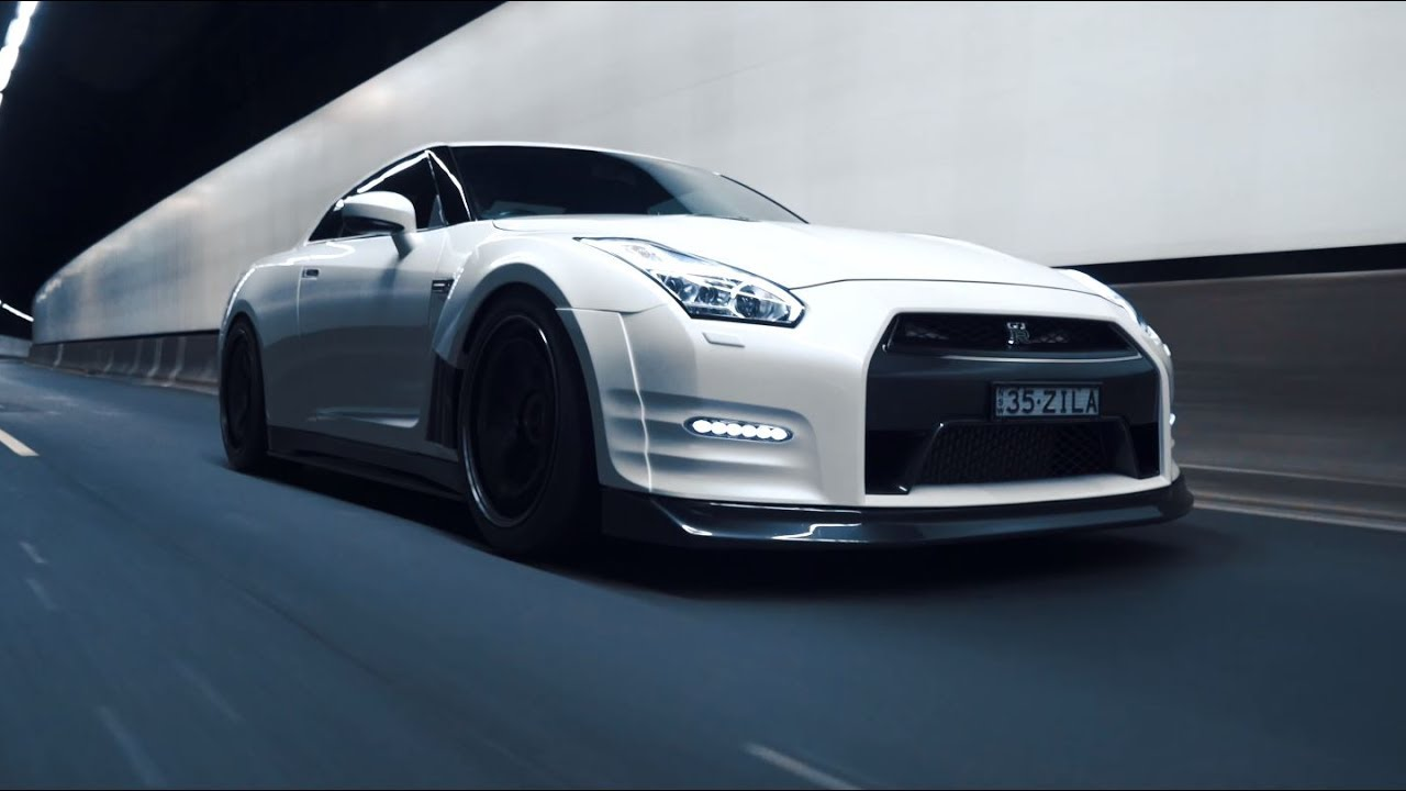 Nissan Gtr Custom >> White Knight; GT-R R35 | 4K - YouTube