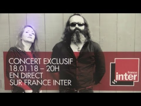THE LIMINANAS LIVE IN PARIS AU STUDIO 105 DE FRANCE INTER LE