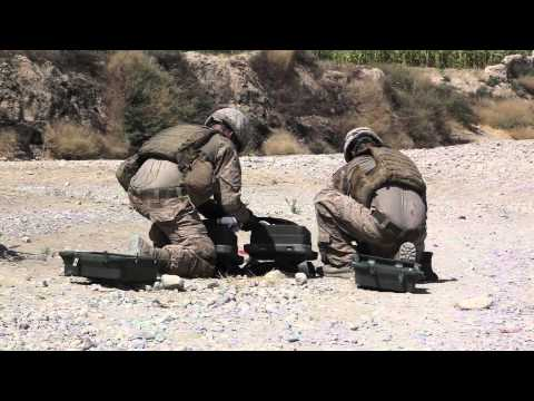 India Battery Marines clear known IED intersection with APOBS