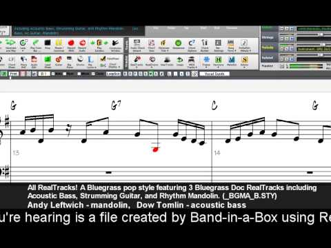 Band-in-a-Box Windows Overview Video
