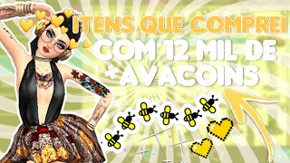 ITENS QUE COMPREI COM 12K DE AVACOINS!!✊