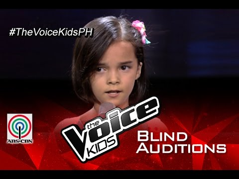 The Voice Kids Philippines 2015 Blind Audition: Hesus by Mandy