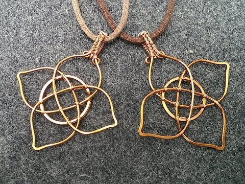 How To Celtic Symbol For Family Love Pendant Diy Wire Jewelry 263