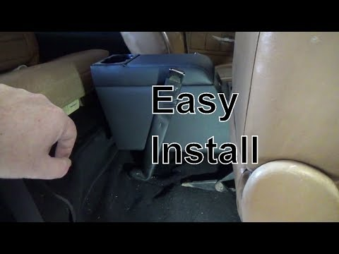 Review and Install Jeep Locking Center Console  from Rampage