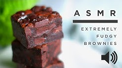 ASMR Baking: Extremely Fudgy Brownies • Tasty