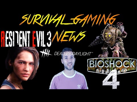 RE3 Trailer and Release Date Revealed, Bioshock 4 Announced & DBD News | Survival Gaming News