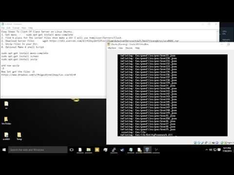 How to setup a Coc Server on Linux