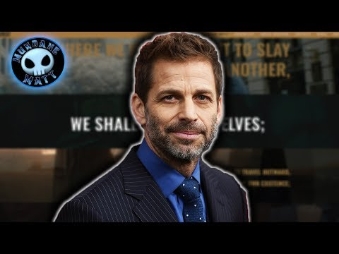 ForSnyderCut is a giant love letter to Zack Snyder's DCEU films