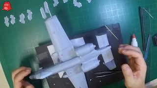 페이퍼크래프트(Paper Craft) A10 썬더볼트 …