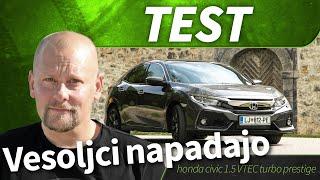 2017 honda civic 1.5 VTEC turbo prestige - test