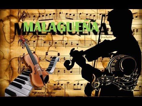 Malagueña (Karaoke for violin) [Piano Accompaniment + Sheet Music] - SARASATE