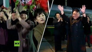Kim Jong-un se despide de los norcoreanos antes de partir a Rusia para reunirse con Vladímir Putin