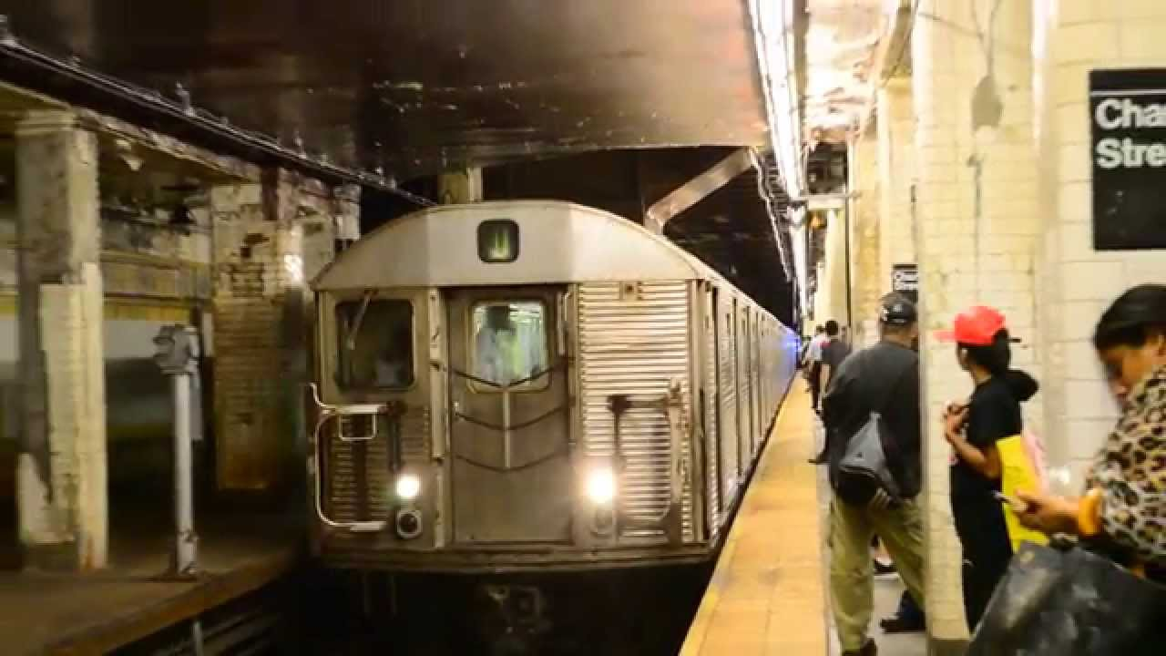 MTA New York City Subway : Jamaica Center Bound R32 J