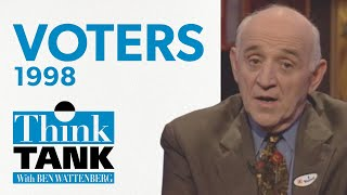 What did the voters really say? — with David Frum (1998) | THINK TANK
