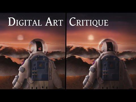 Alien Planet - Digital Art Critique