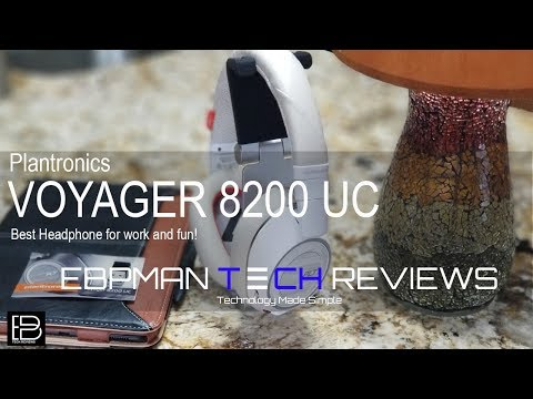 Best Bluetooth Headphone   Plantronics VOYAGER 8200 UC Active Noise Cancelling Outdoor Call test
