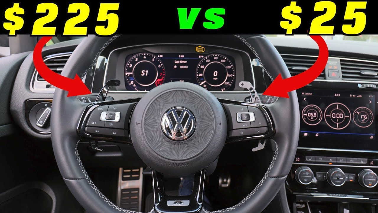 How To Install Paddle Shifters ($225 vs $25 DSG Paddle