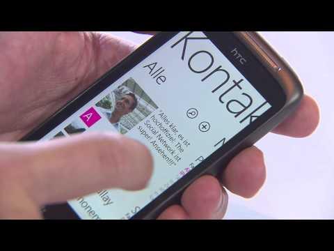 Und so funktioniert das HTC 7 Mozart