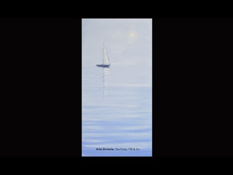 how-to-paint-a-sailboat-and-sea-oil---narrated