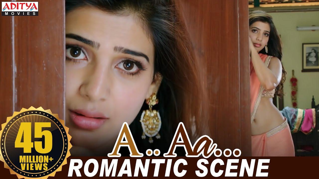 Download Nithiin Samantha Romantic Scene   Nithiin, Samantha   Trivikram   Aditya Movies