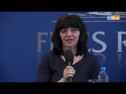 Konferencja prasowa: Małgorzata Oborska