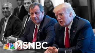 Christie Isn't At All Curious About The Russians At Donald Trump's 2016 RNC | The 11th Hour | MSNBC